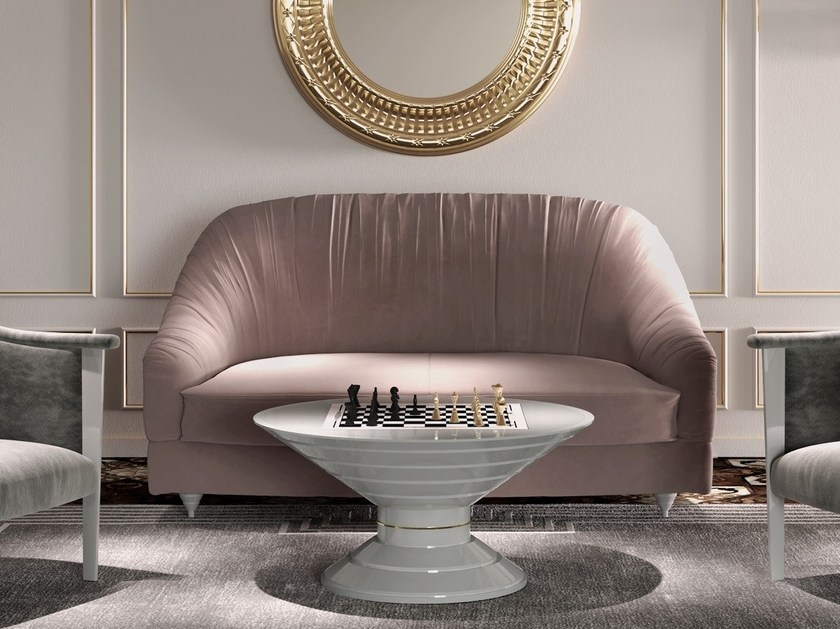 Velvet sofa NUAGE by Vismara Design
