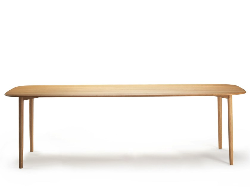 Rectangular wooden table NUDO | Table by SANCAL