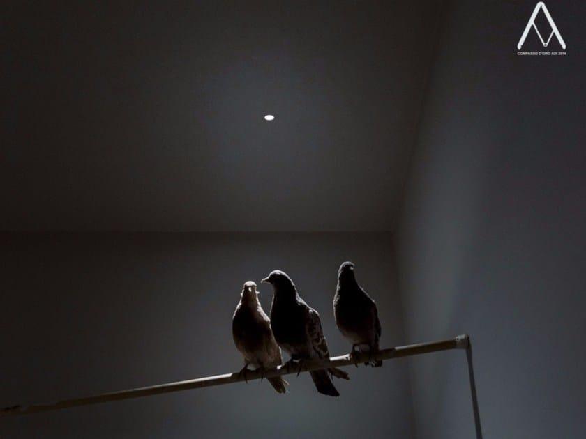 LED recessed spotlight NULLA by DAVIDE GROPPI