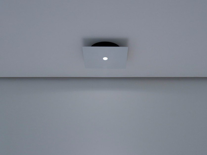 LED metal ceiling lamp NULLA PL - DAVIDE GROPPI