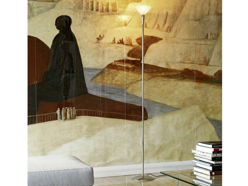 Floor lamp with dimmer NUOVA SEGNO TRE - FontanaArte