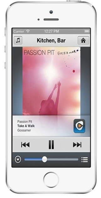 App NuVo su Smartphone