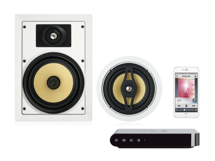 Home automation system for audio / video NUVO - BTICINO