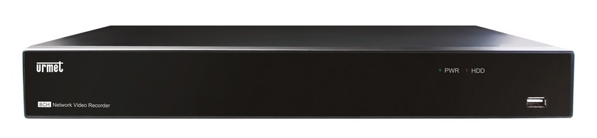 Surveillance and control system NVR 8 canali 1080p PoE - Urmet