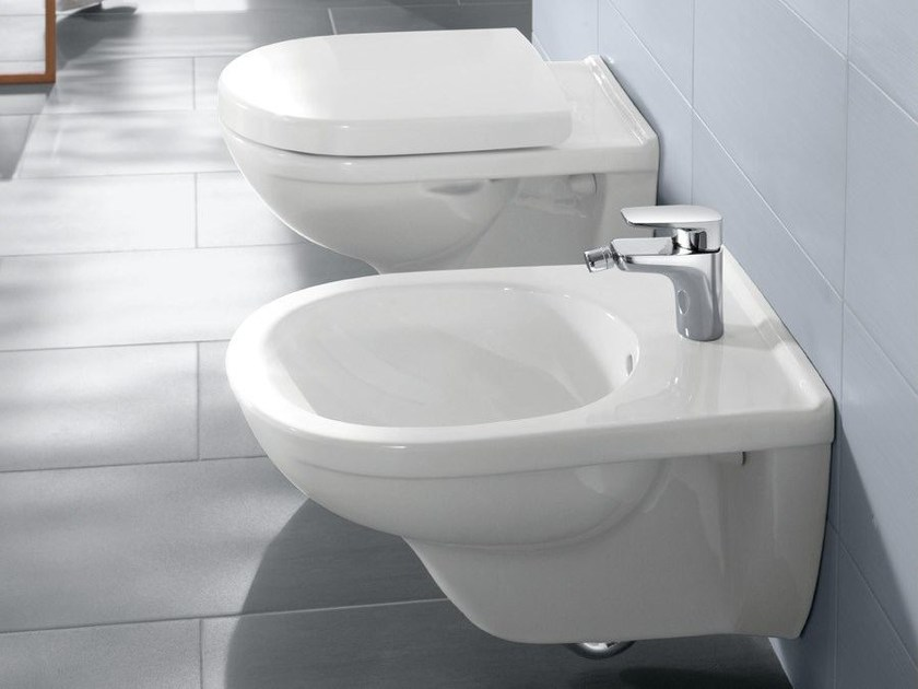 bidet sospeso in ceramica o novo bidet sospeso villeroy boch. Black Bedroom Furniture Sets. Home Design Ideas