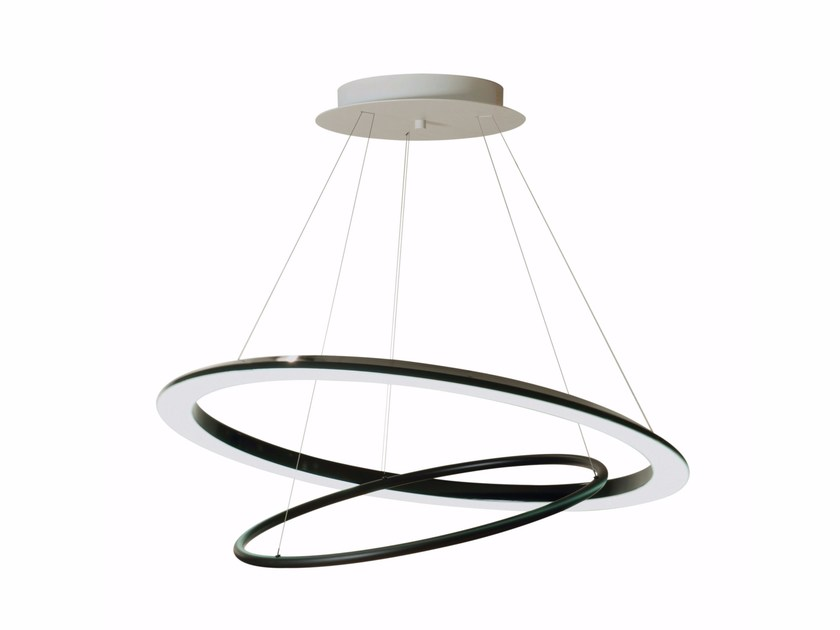 LED adjustable pendant lamp O-O - ROCHE BOBOIS