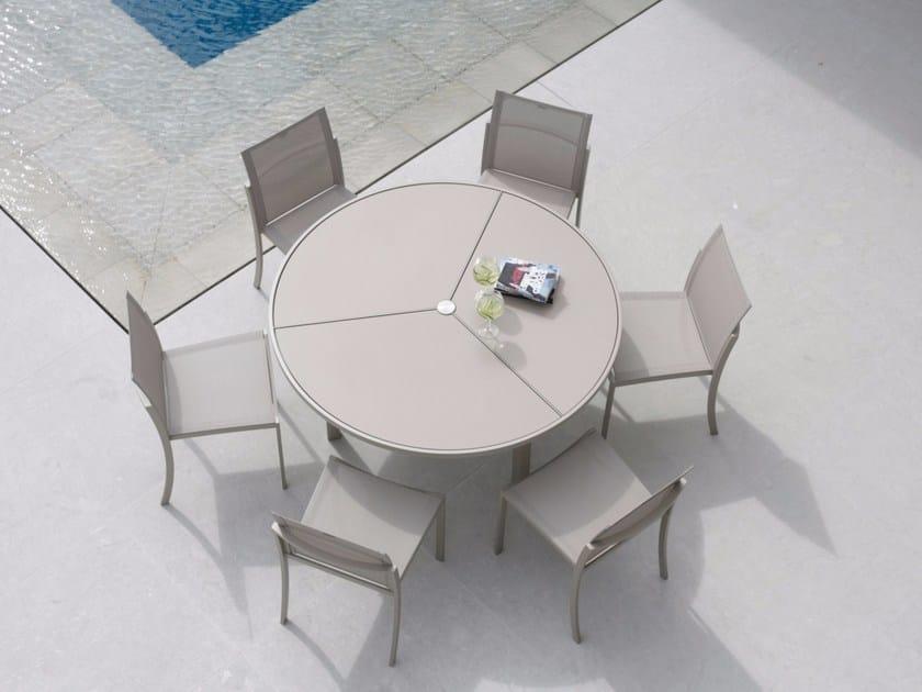 Tavolo da giardino rotondo o zon tavolo rotondo royal - Tavolo rotondo da giardino ...