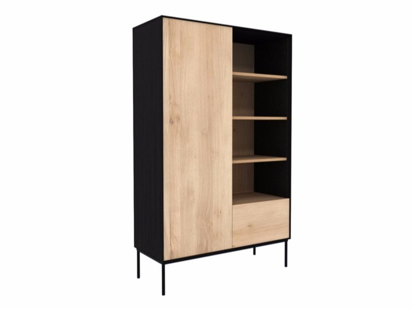 Oak highboard OAK BLACKBIRD | Highboard by Ethnicraft