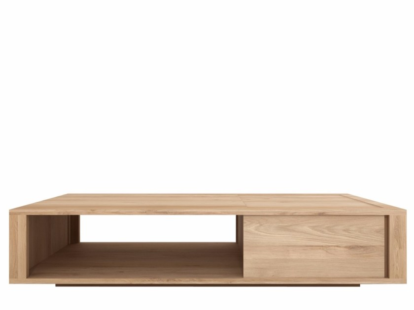 Rectangular solid wood coffee table OAK SHADOW | Coffee table by Ethnicraft