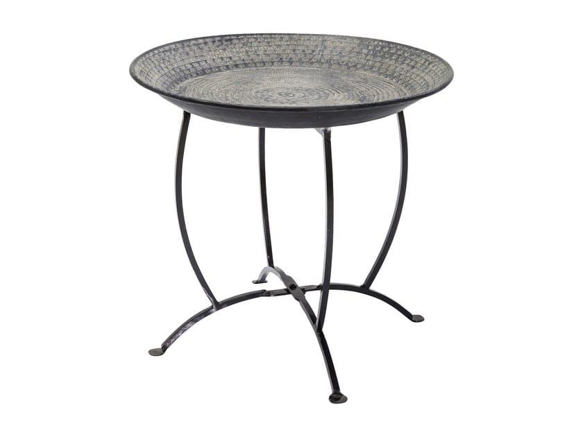 Round aluminium tray OASIS BLACK by KARE-DESIGN