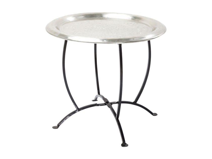 Round aluminium tray OASIS SILVER - KARE-DESIGN