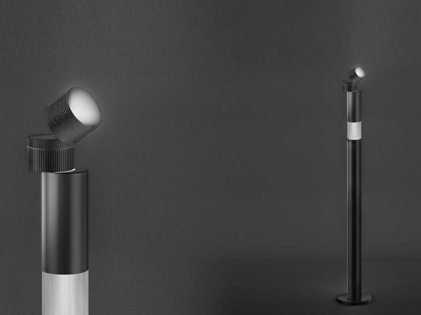 LED direct-indirect light aluminium floor lamp OBJECTIVE | Floor lamp - Artemide Italia