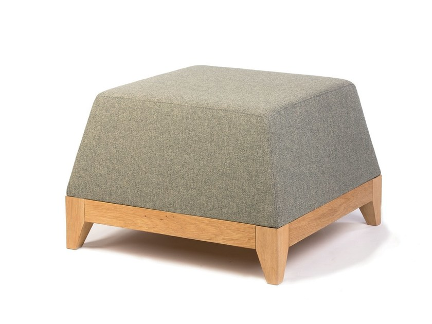 Fabric pouf OBLIQUE / OB1 by bogaerts label