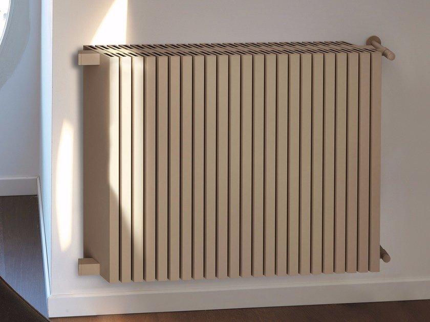 Modular wall-mounted aluminium decorative radiator OBLIQUO | Wall-mounted decorative radiator - K8 Radiatori