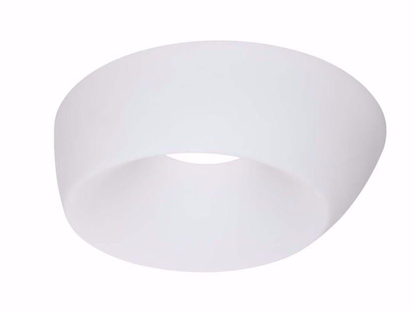 Polyethylene wall lamp / ceiling lamp OBLIX by Linea Light Group