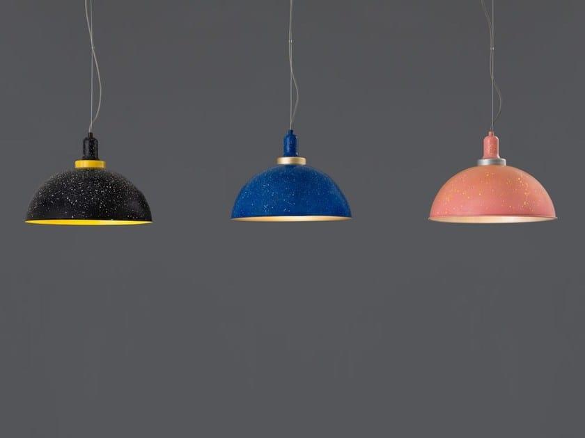 Direct light aluminium pendant lamp OBLOHA 1482 - Racó Ambient