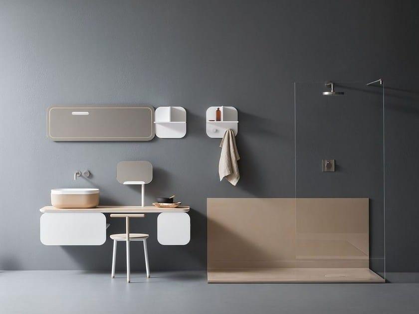 Bathroom furniture set OBLON - NOVELLO