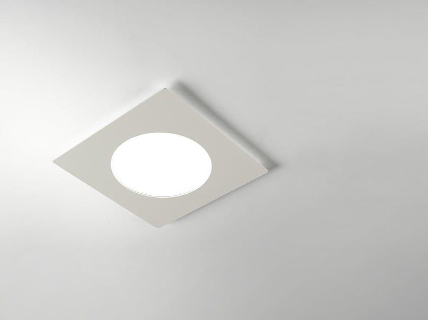 LED square built-in lamp OCCHIO - Cattaneo Illuminazione