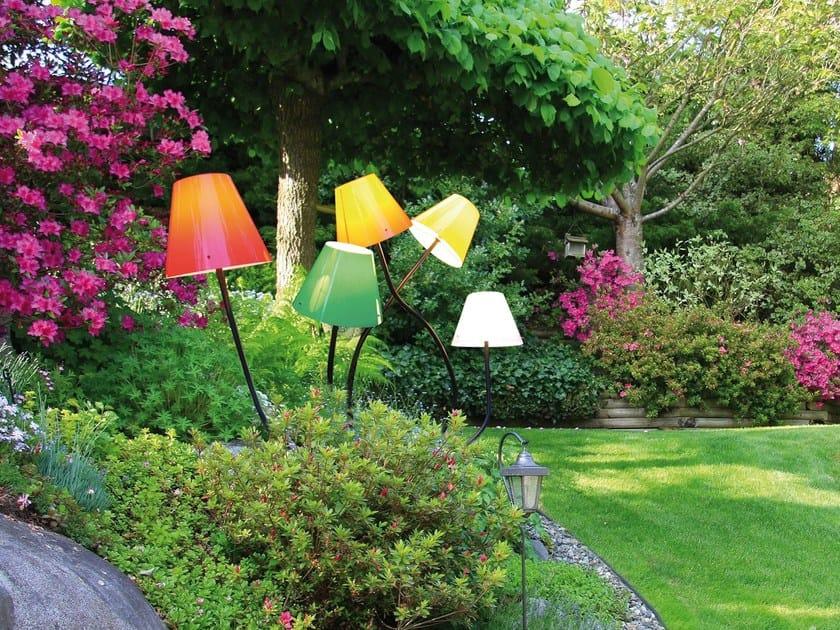 Lampada da terra in plastica con braccio flessibile OCTOPUS OUTODOOR by Top Light
