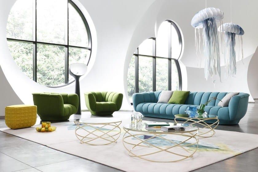 Odea poltrona by roche bobois design roberto tapinassi - Roche bobois divani prezzi ...