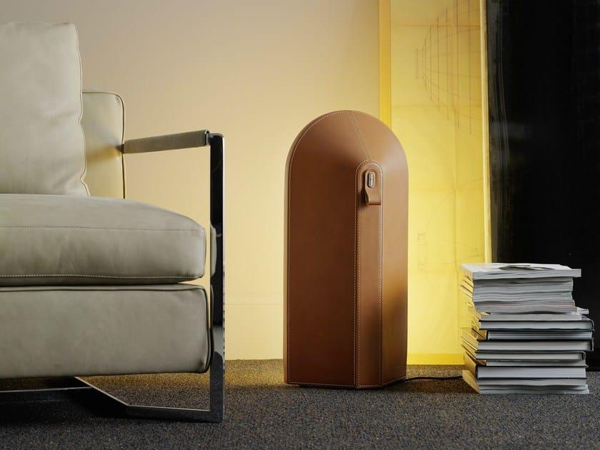 Polycarbonate floor lamp ODEON - FontanaArte