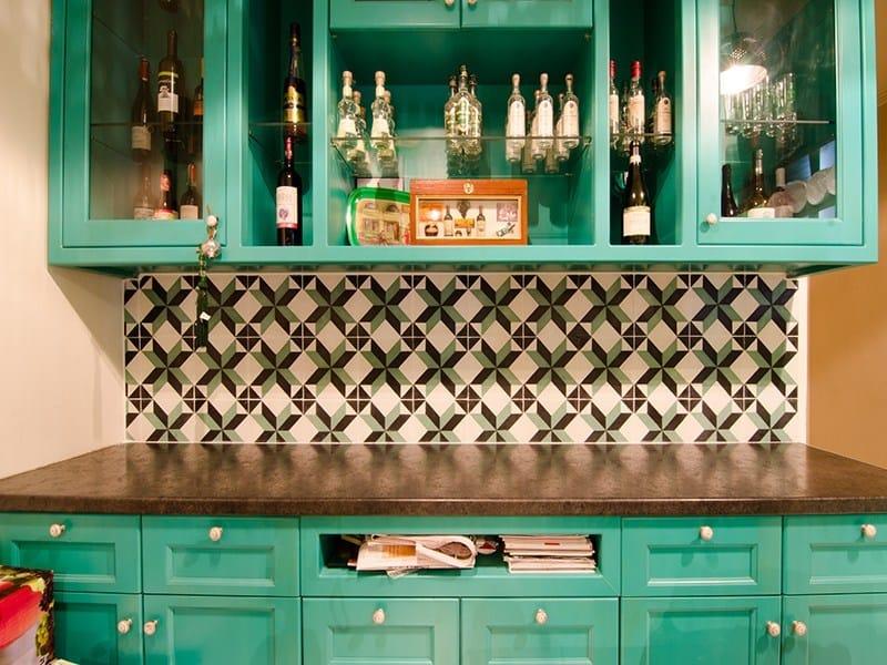 Indoor/outdoor cement wall/floor tiles ODYSSEAS 307 by TsourlakisTiles