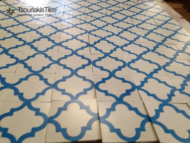 Indoor/outdoor cement wall/floor tiles ODYSSEAS 319 by TsourlakisTiles