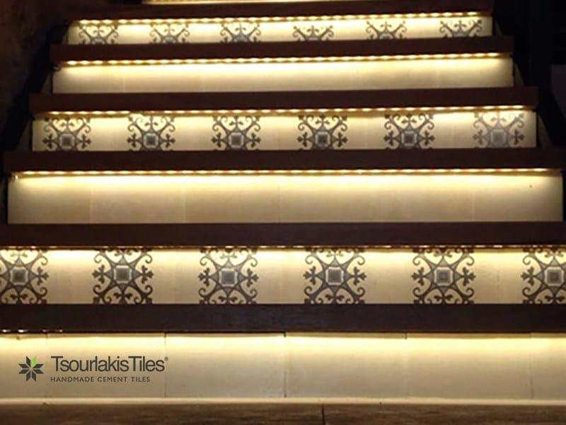 Indoor/outdoor cement wall/floor tiles ODYSSEAS 329 - TsourlakisTiles