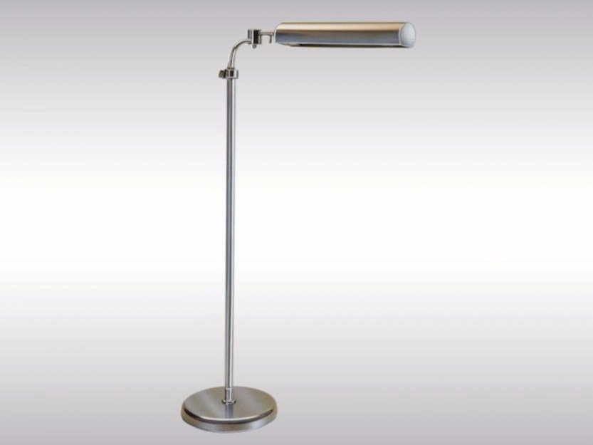 Height-adjustable adjustable floor lamp OFFICE 1 by Woka Lamps Vienna