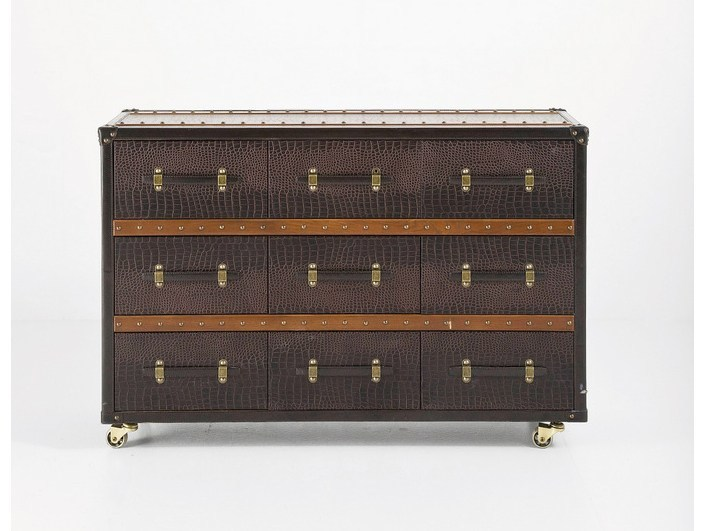 MDF chest of drawers with casters OFFICE COLONIAL - KARE-DESIGN