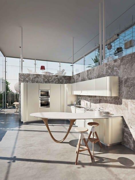 cucina componibile con penisola ola 20 cucina con penisola snaidero. Black Bedroom Furniture Sets. Home Design Ideas