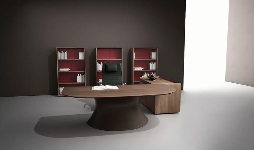 Ola scrivania in cristalplant by italy dream design - Scrivania design moderno ...