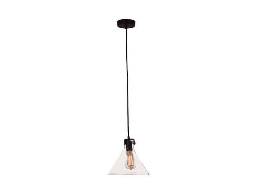 Glass pendant lamp OLD - Aromas del Campo