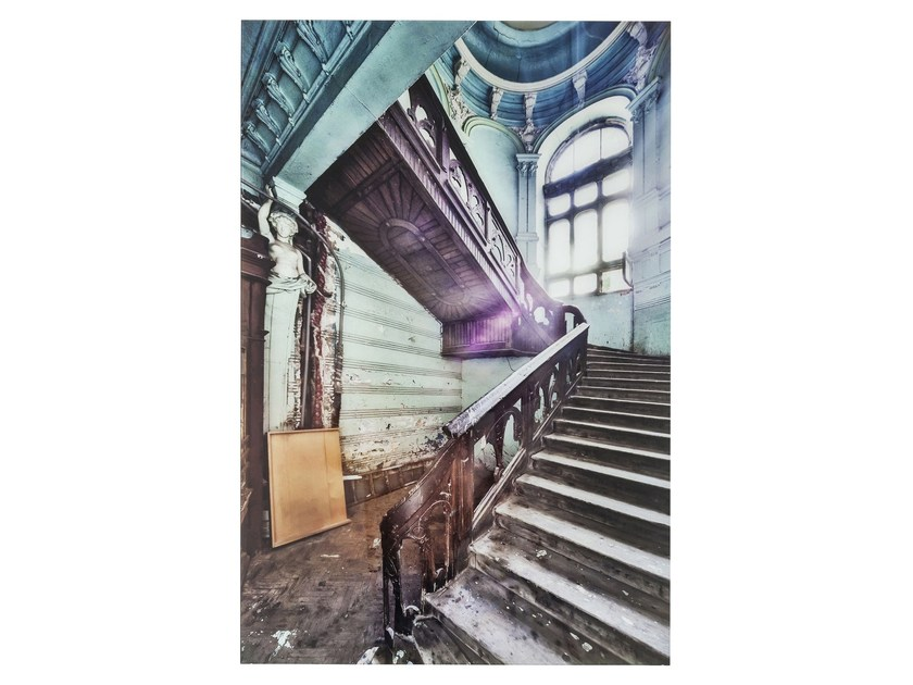 Photographic print / Print on glass OLD STAIRCASE CORNER - KARE-DESIGN