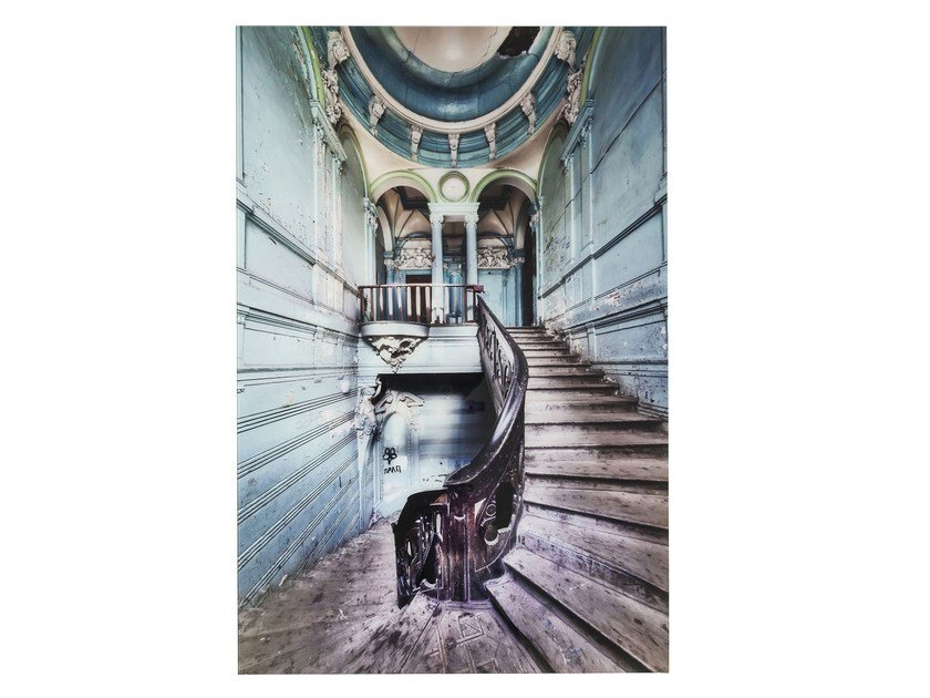 Photographic print / Print on glass OLD STAIRCASE - KARE-DESIGN