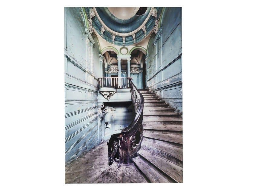 Stampa fotografica su vetro OLD STAIRCASE - KARE-DESIGN