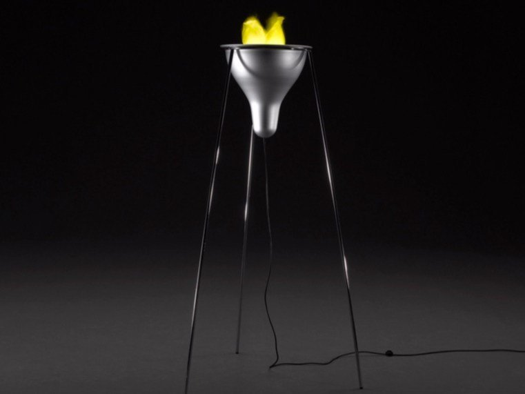 Metal floor lamp OLIMPIONA - Paolo Castelli