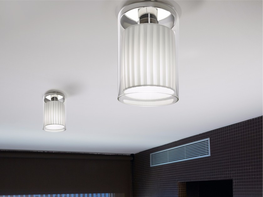 LED Borosilicate glass ceiling light OLIVER | Ceiling light - BOVER Il. Luminació & Mobiliario