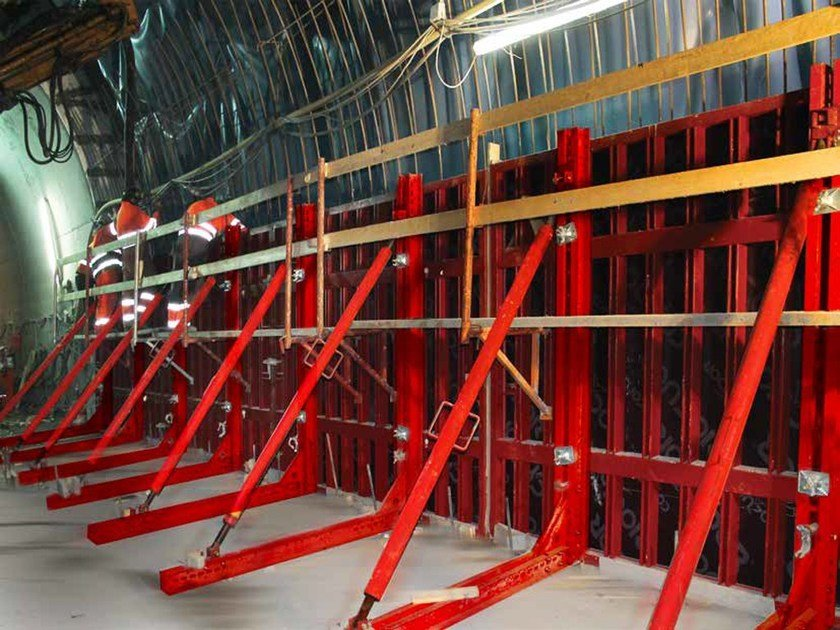 In situ concrete loadbearing masonry system OMNI - Condor