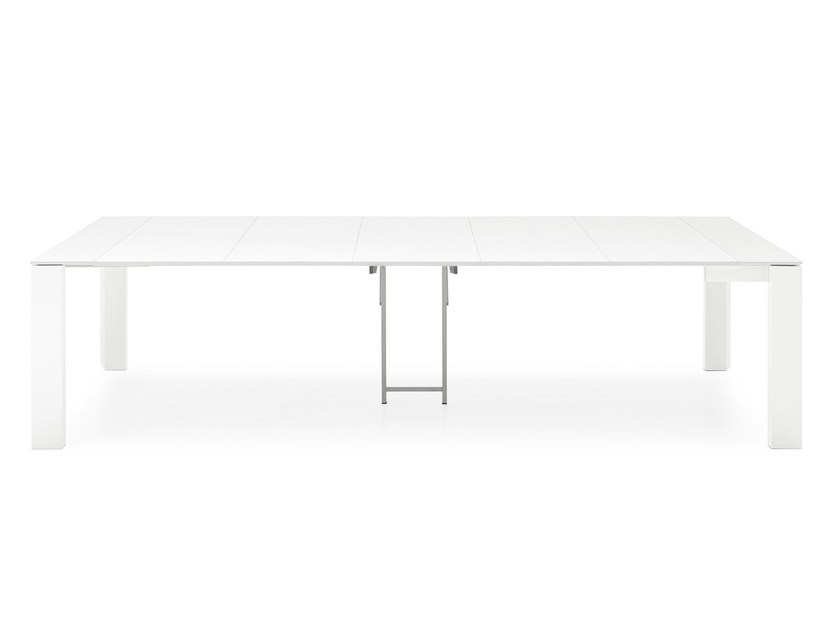 omnia table console extensible by calligaris. Black Bedroom Furniture Sets. Home Design Ideas