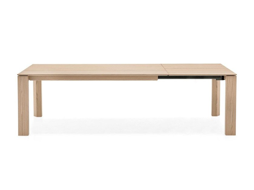 Extending rectangular table OMNIA XXL by Calligaris