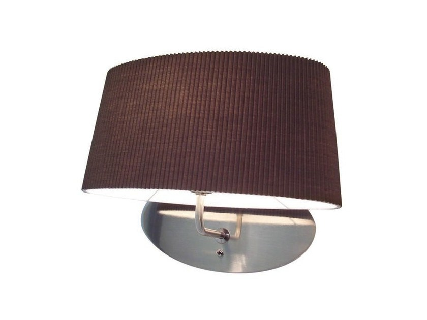 Metal wall lamp with fixed arm ONA | Wall lamp - Aromas del Campo