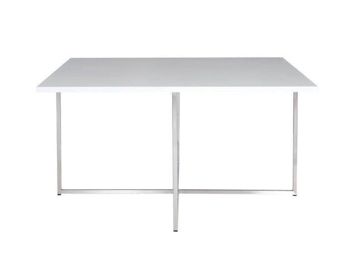 Square coffee table ONCORNER - SMV Sitz- und Objektmöbel