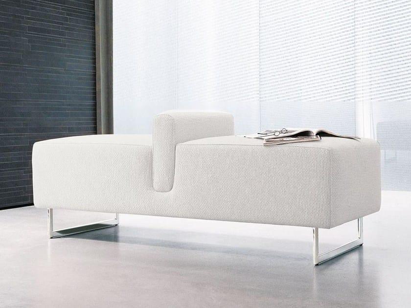 Upholstered polyurethane bench ONDA - ALIVAR