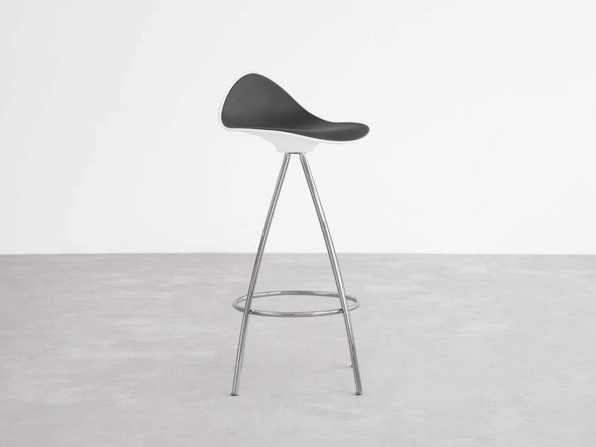 Barstool with footrest ONDA | Stool with footrest - STUA