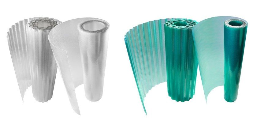 Lastra in poliestere traslucida ONDUCLAIR PLR  Pannello di copertura in laminato plastico ...