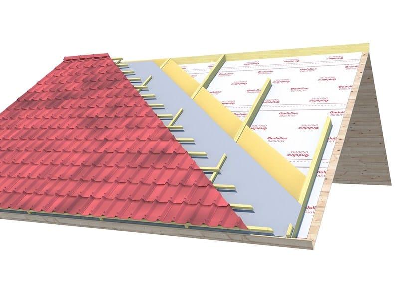 Vapour barrier / Vapour barrier for roof ONDUTISS VAP CONTROL - ONDULINE ITALIA