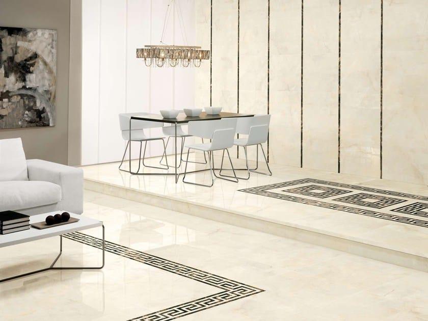 Porcelain stoneware wall/floor tiles OPALO - Museum