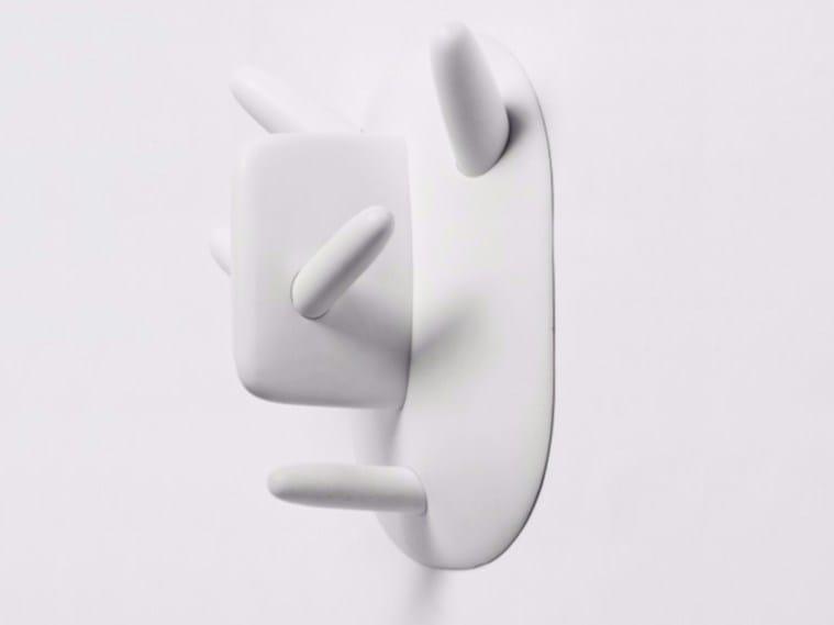 Wall-mounted ceramic coat rack OOGA - BOOGA - Moustache