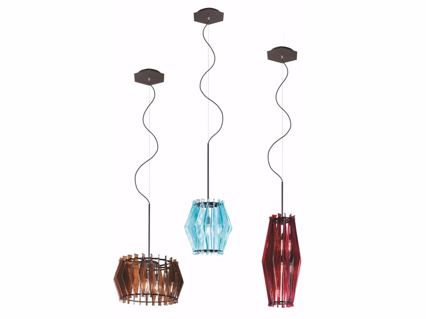 Glass pendant lamp OOMPA-LOOMPA | Pendant lamp by Arketipo